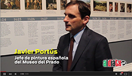 Video: Portús, curator of Spanish paintings at the Prado Museum, speaking about Velazquez at the Court of Philip IV of Spain (in Spanish)