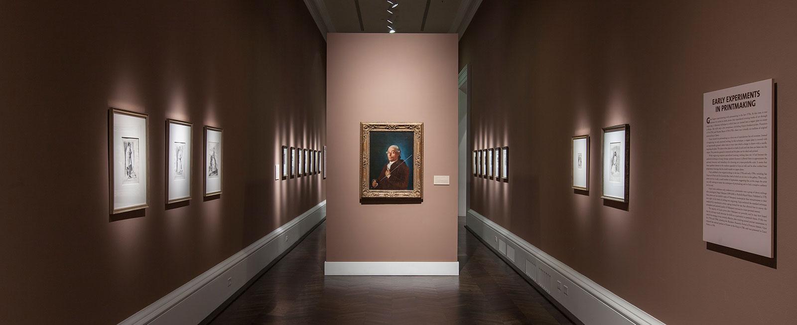 Curating Goya international Symposium installation photo