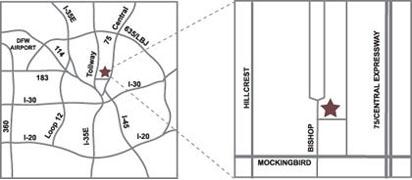 Meadows area map