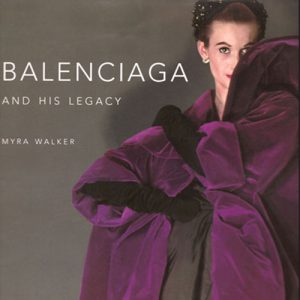 Balenciaga exhibition catalogue cover