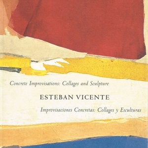 Esteban Vicente exhibition catalogue cover