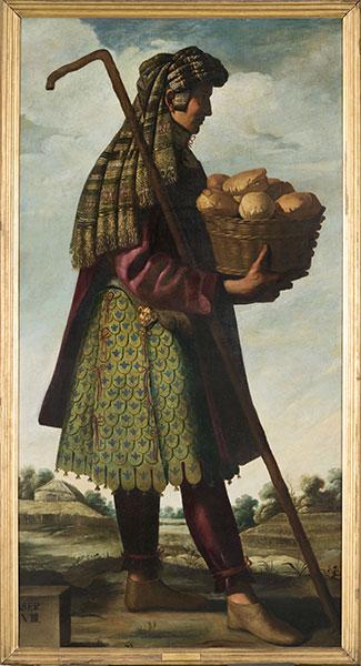 Francisco de Zurbarán (Spanish, 1598 – 1664), Asher, c. 1640-45. Oil on canvas. Photo by Colin Davison. © Auckland Castle Trust/ Zurbarán Trust