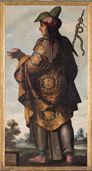 Francisco de Zurbarán (Spanish, 1598 – 1664), Dan, c. 1640-45. Oil on canvas. Photo by Colin Davison. © Auckland Castle Trust/ Zurbarán Trust