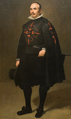 Diego Rodríguez de Silva y Velázquez (Spanish, 1599-1660), Portrait of Don Pedro de Barberana, c. 1631-33. Oil on canvas. Kimbell Art Museum, Fort Worth, AP 1981.14.