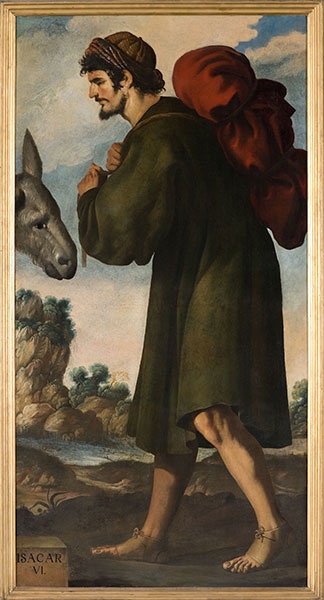 Francisco de Zurbarán (Spanish, 1598 – 1664), Isacar, c. 1640-45. Oil on canvas. Photo by Colin Davison. © Auckland Castle Trust/ Zurbarán Trust