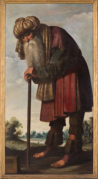 Francisco de Zurbarán (Spanish, 1598 – 1664), Jacob, c. 1640-45. Oil on canvas. Photo by Colin Davison. © Auckland Castle Trust/ Zurbarán Trust