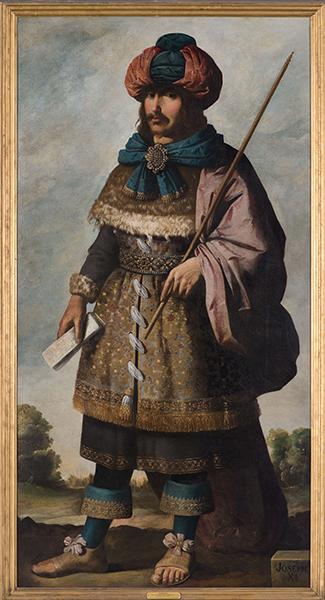 Francisco de Zurbarán (Spanish, 1598 – 1664), Joseph, c. 1640-45. Oil on canvas. Photo by Colin Davison. © Auckland Castle Trust/ Zurbarán Trust