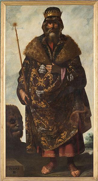Francisco de Zurbarán (Spanish, 1598 – 1664), Judah, c. 1640-45. Oil on canvas. Photo by Colin Davison. © Auckland Castle Trust/ Zurbarán Trust