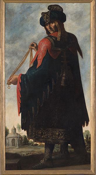 Francisco de Zurbarán (Spanish, 1598 – 1664), Levi, c. 1640-45. Oil on canvas. Photo by Colin Davison. © Auckland Castle Trust/ Zurbarán Trust