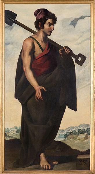 Francisco de Zurbarán (Spanish, 1598 – 1664), Naphtali, c. 1640-45. Oil on canvas. Photo by Colin Davison. © Auckland Castle Trust/ Zurbarán Trust