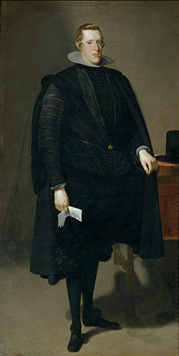 Diego Rodríguez de Silva y Velázquez (Spanish, 1599-1660), Philip IV, 1623-27. Oil on canvas. Museo Nacional del Prado, Madrid. © Museo Nacional del Prado, Madrid.
