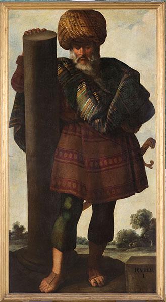 Francisco de Zurbarán (Spanish, 1598 – 1664), Reuben, c. 1640-45. Oil on canvas. Photo by Colin Davison. © Auckland Castle Trust/ Zurbarán Trust