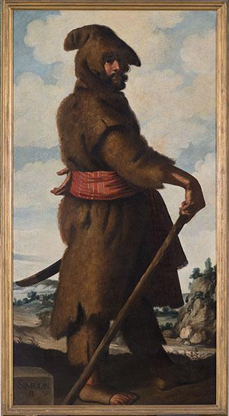 Francisco de Zurbarán (Spanish, 1598 – 1664), Simeon, c. 1640-45. Oil on canvas. Photo by Colin Davison. © Auckland Castle Trust/ Zurbarán Trust