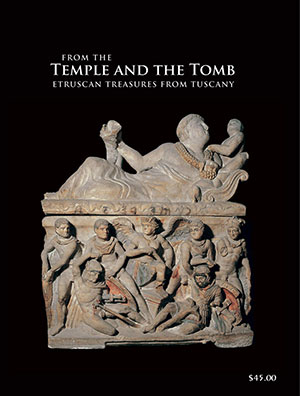 Temple and the Tomb catalogue cover