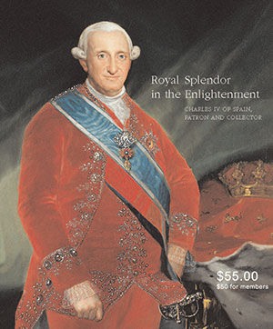 Royal Splendor in the Enlightenment catalogue cover