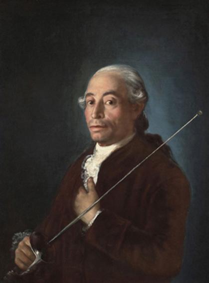Francisco José de Goya (1746-1828), Portrait of Francisco Sabatini, 1775-79. Oil on canvas; Meadows Museum, SMU, Dallas, Algur H. Meadows Collection Photography by Michael Bodycomb