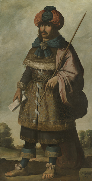 Francisco de Zurbarán (Spanish, 1598-1664) Joseph, c. 1640-45. Oil on canvas. Auckland Castle, County Durham © Auckland Castle Trust/Zurbarán Trust. Photo by Robert Laprelle.