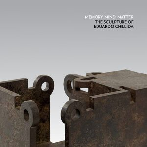 Chillida Exhibition Catalog cover