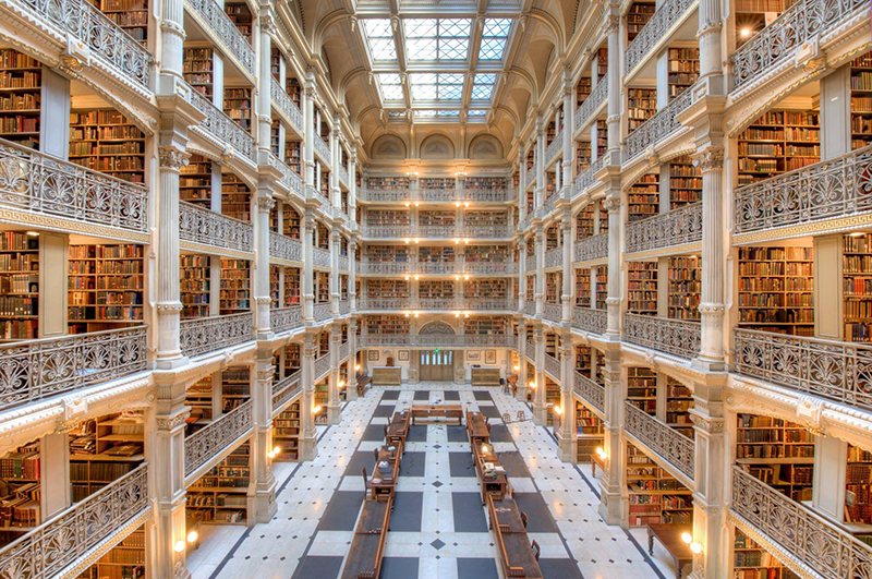 Peabody Library, Mount_Vernon Place Historic District