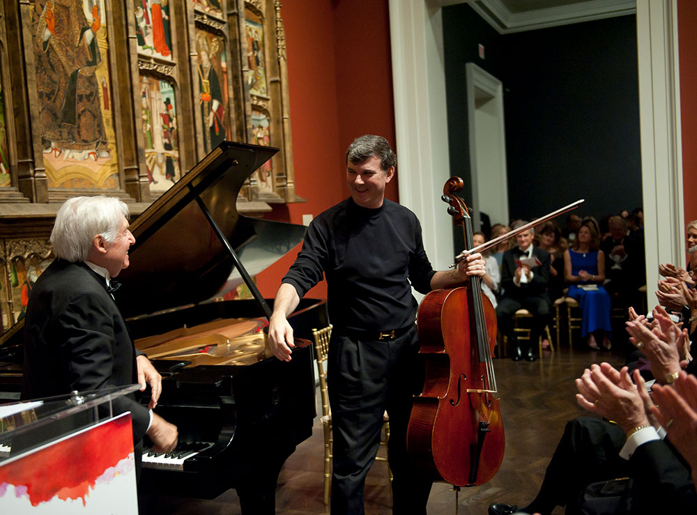Music in the galleries of the Meadows Museum